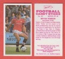 Manchester United Bryan Robson 20